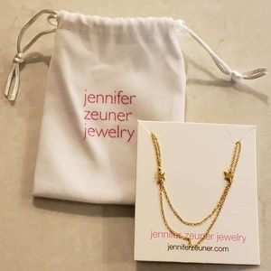 Jennifer Zeuner double star necklace